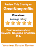 Five star GreatNonProfits charity promoting free services, free pregnancy testing, and confidential.