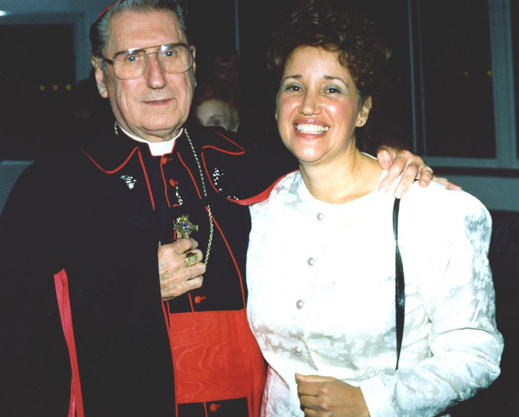 Cardinal O'Connor and Kathy