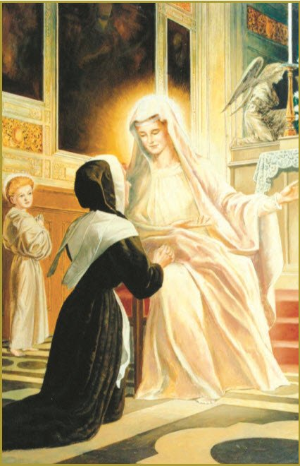 ST. CATHERINE AT OUR LADY'S KNEE