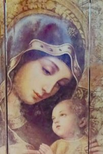 Mary did you know prayer card
